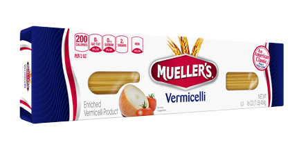 box of vermicelli pasta noodles from muellers