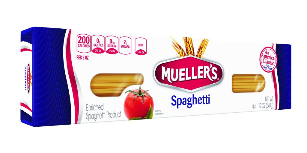 best spaghetti noodles from muellers pasta