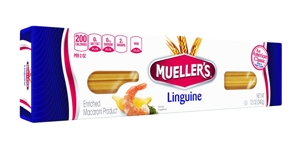 linguine noodles from muellers pasta