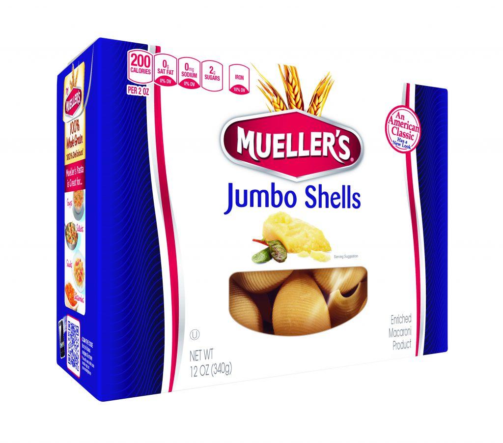 jumbo pasta shells from muellers