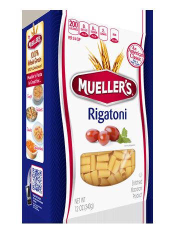 muellers rigatoni pasta box