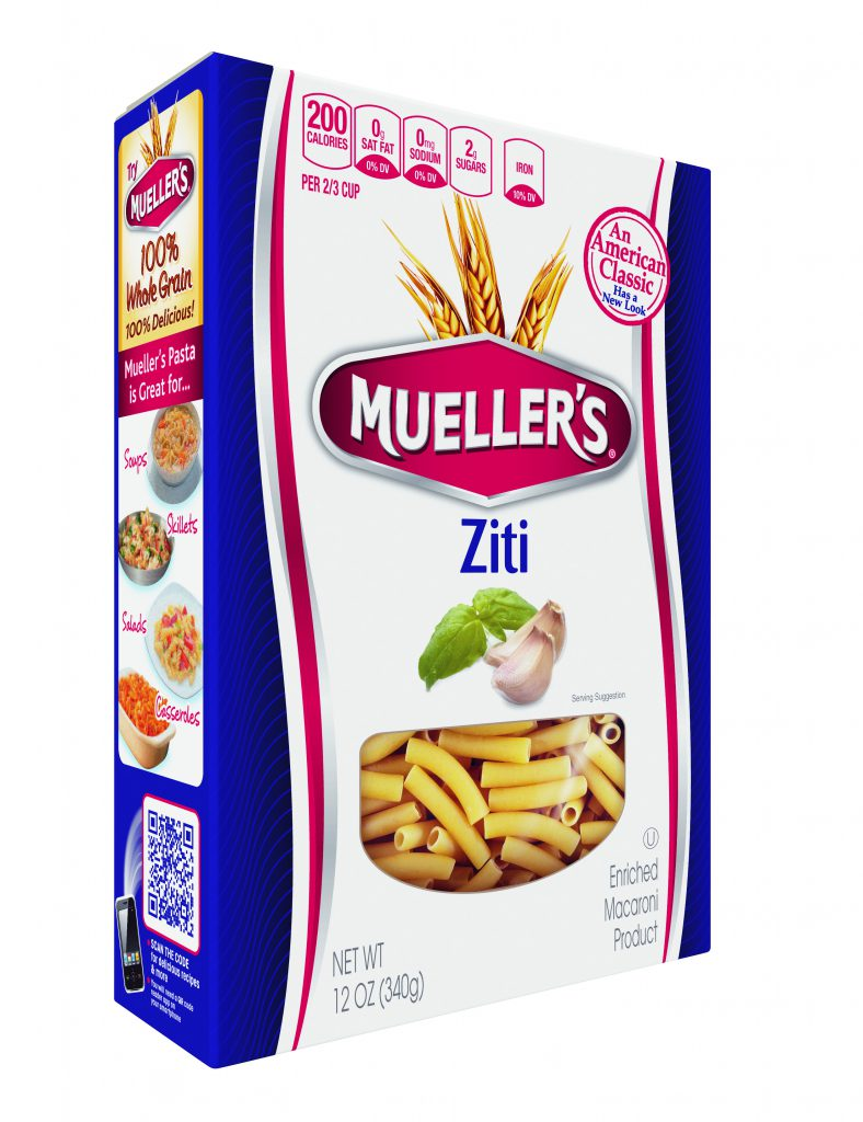 Ziti noodles pasta from Meullers