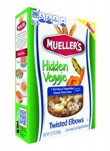 hidden vegetable twisted elbow pasta from muellers