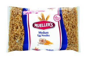 bag of medium egg noodles from muellers