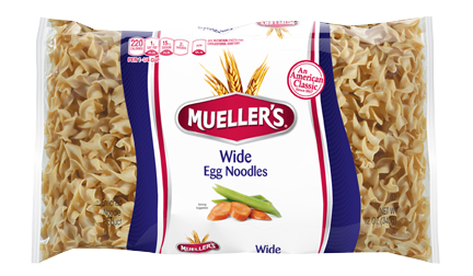 bag of egg noodles from muellers