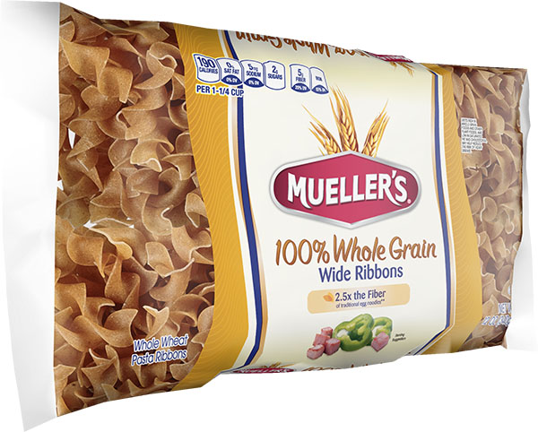 High Fiber 100% Whole Grain Wide Noodles