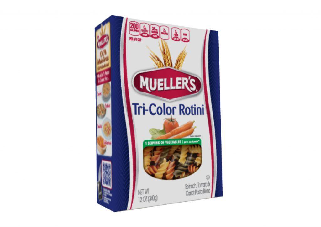 Box Muellers Rotini Vegatable Pasta