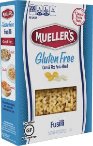 Muellers Gluten Free Fusilli Corn and Rice Pasta