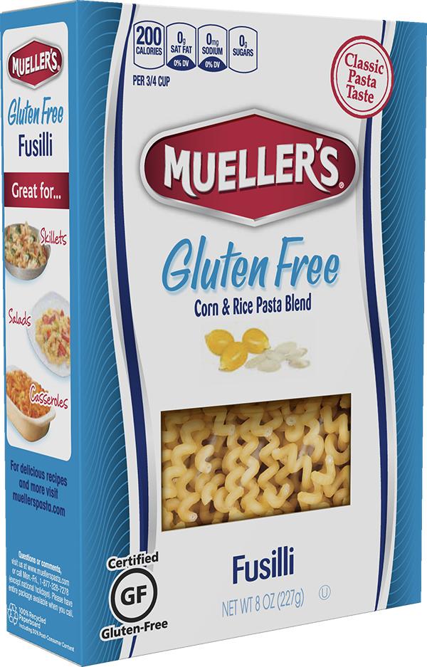 Muellers Gluten Free Fusilli Corn and Rice Pasta
