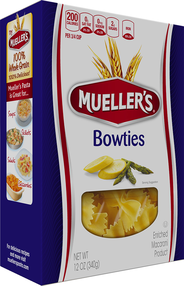 Box of Muellers Bowtie Pasta