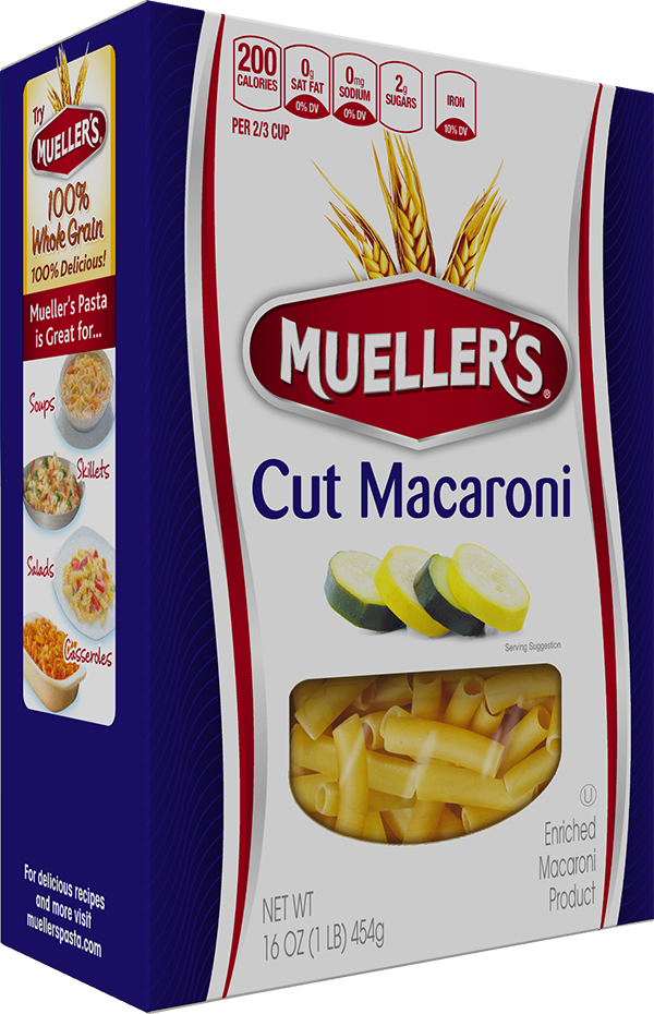 Box of Muellers Macaroni Pasta