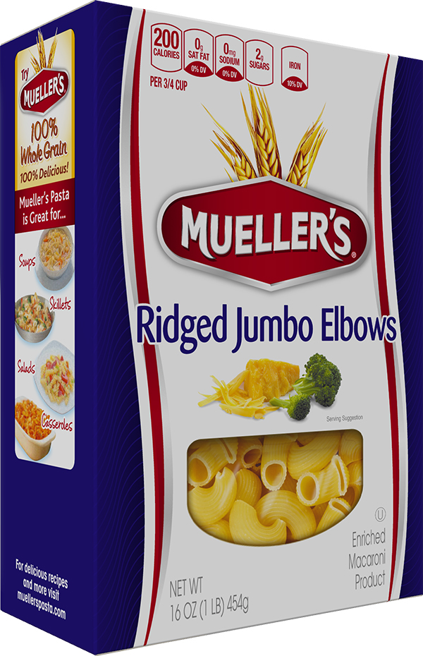 Box of Muellers Elbow Pasta