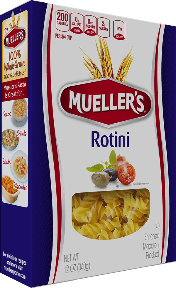 Box of Muellers Rotini Pasta