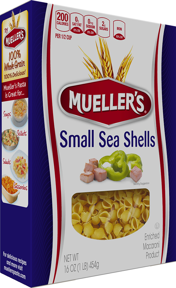 Box of Muellers Sea Shell Pasta