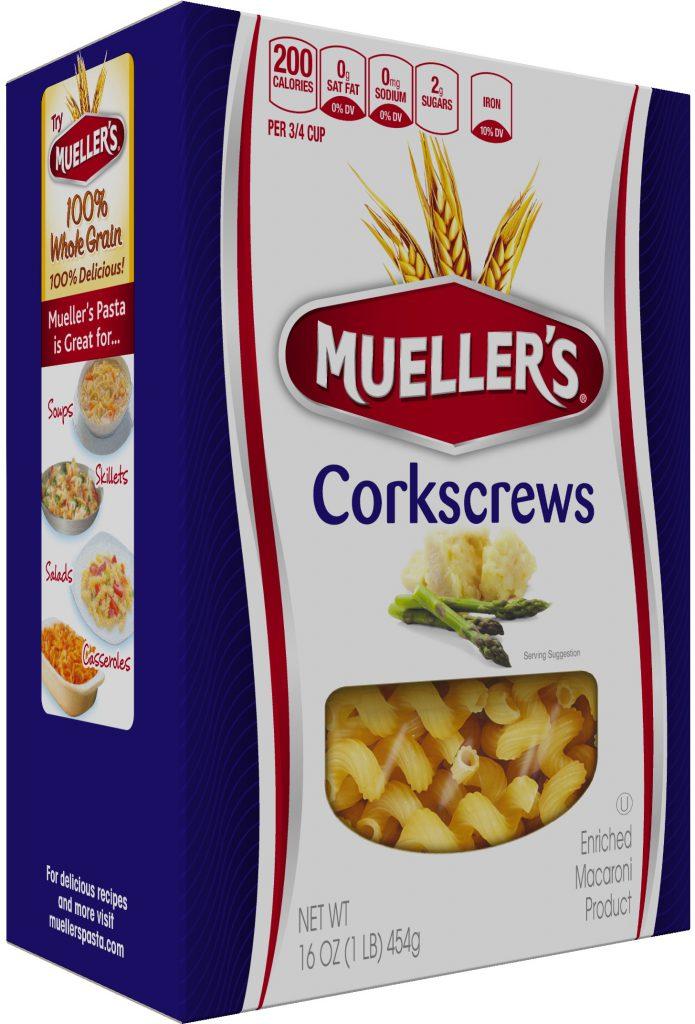 Box of Muellers Corkscrew Pasta
