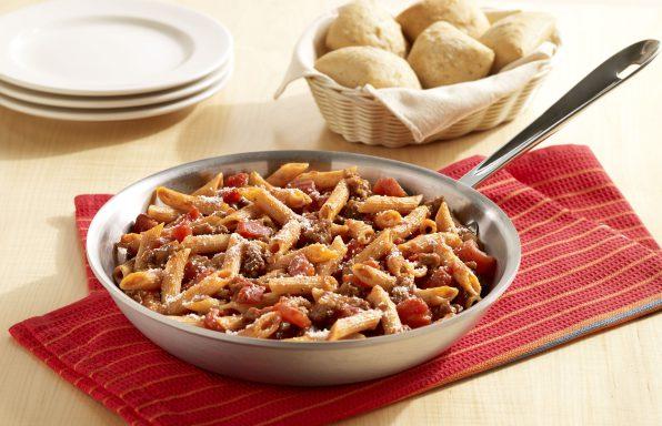 one-skillet-italian-sausage-pasta
