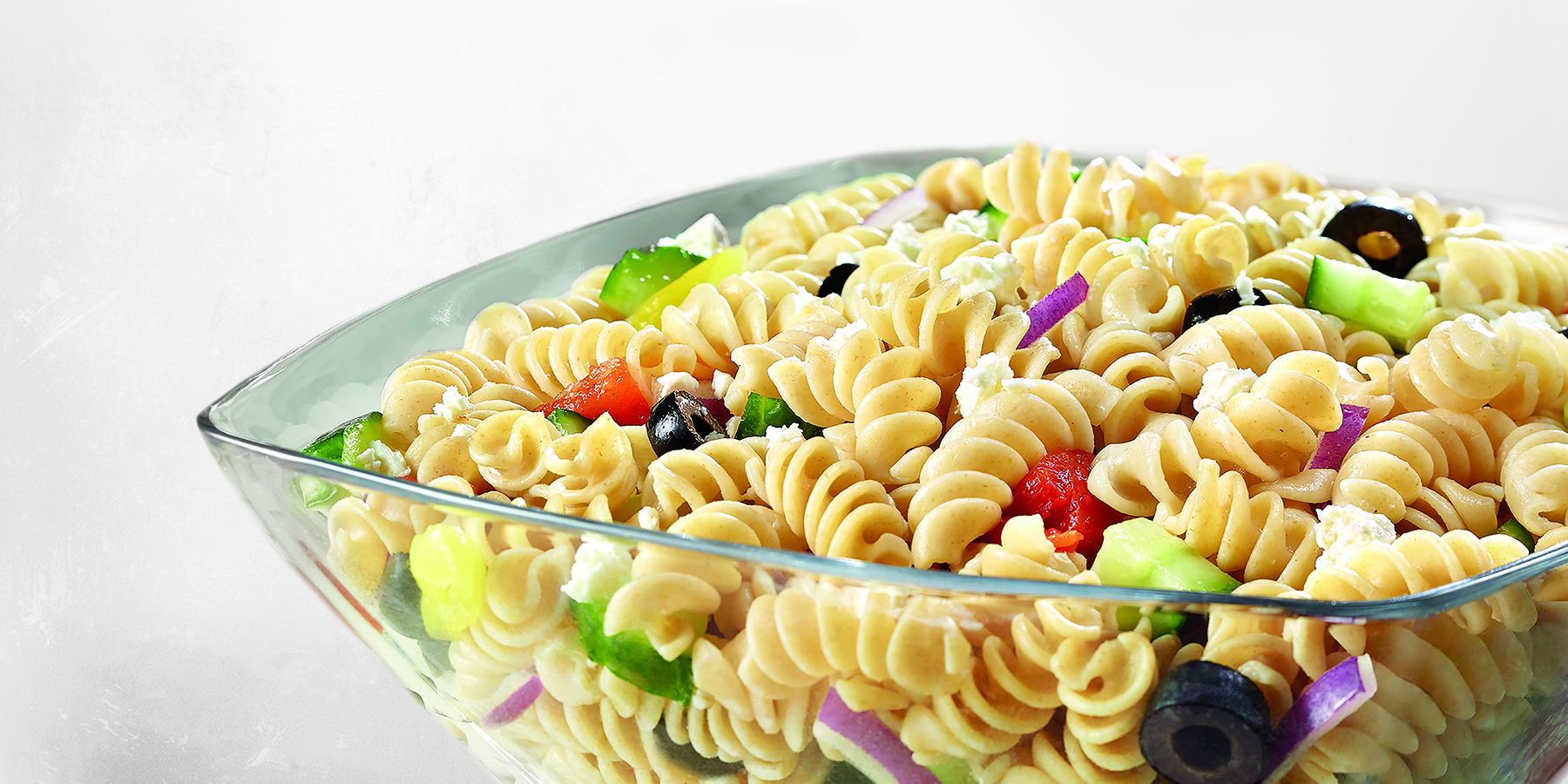 Greek Pasta Salad with Rotini